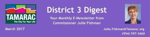 District 3 Digest: Your Monthly E-Newsletter from Commissioner Julie Fishman