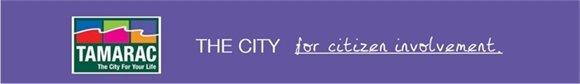 Tamarac, the City for citizen involvement.