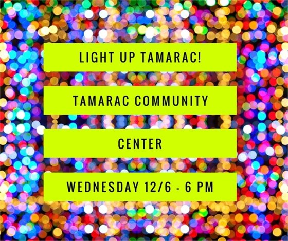 Light Up Tamarac