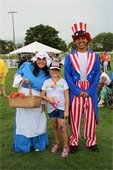 Betsy Ross & Uncle Sam