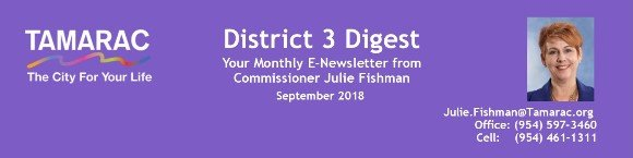 District 3 Digist: September 2018 Issue