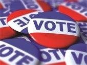 Vote pins image