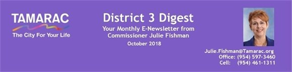 District 3 Digest: October 2018 Issue