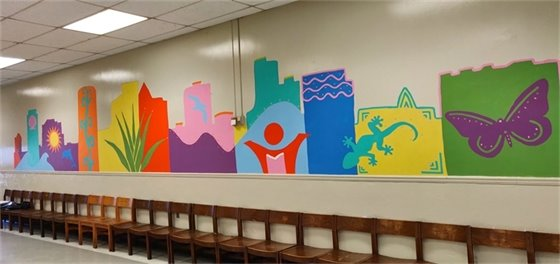 Image of the Tamarac Elementary School Mural