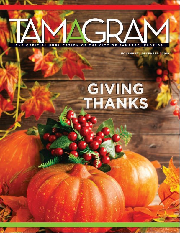 Cover of the Nov Dec 2019 Tamagram