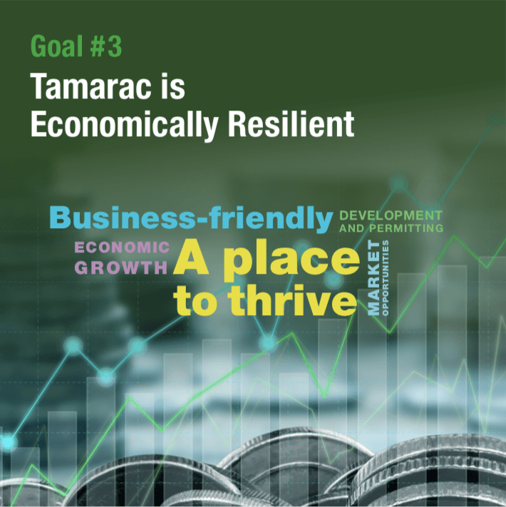 Strategic Goal 3 Tamarac is Economically Resilient