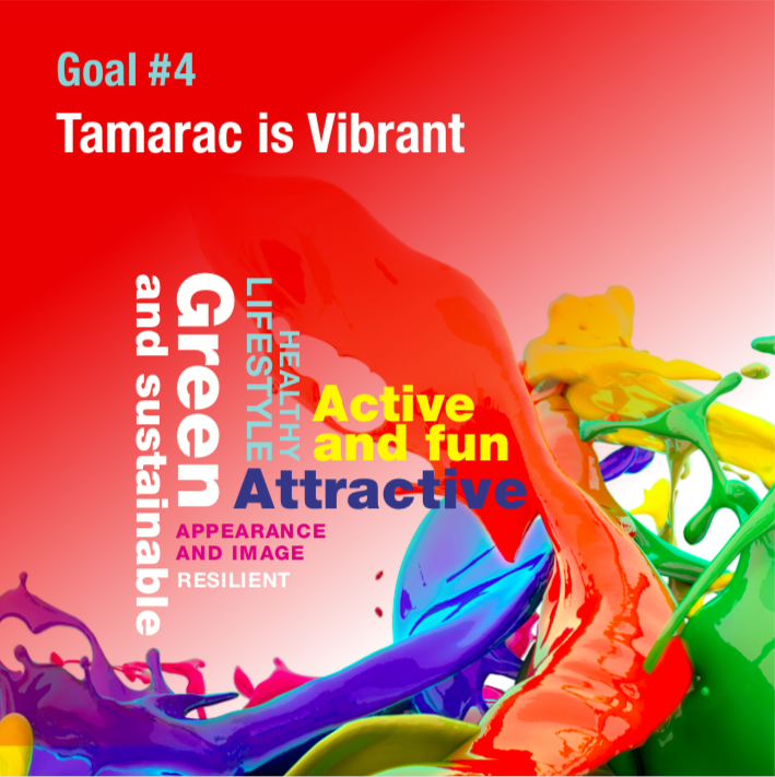 Strategic Goal 4 Tamarac is Vibrant