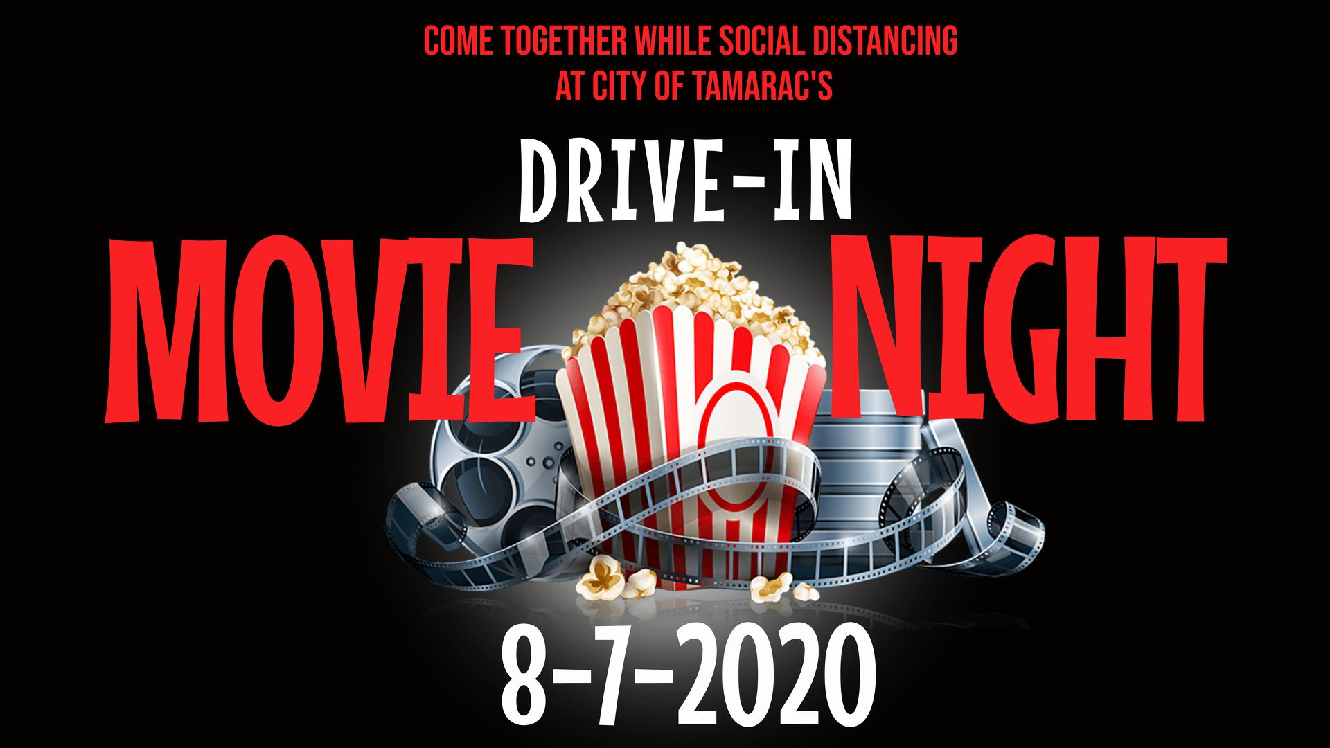 drive in movie banner