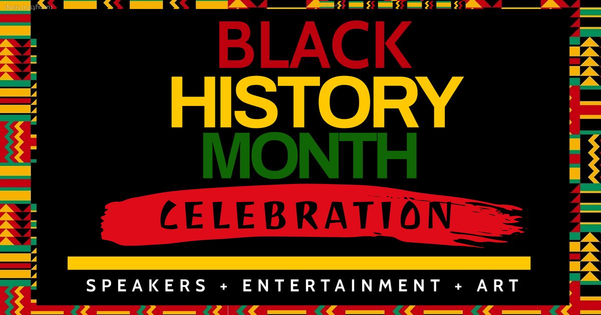 Copy of Copy of Black History Month Flyer Template