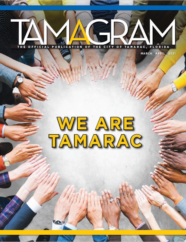 Image of the cover of the March April 2021 Tamagram