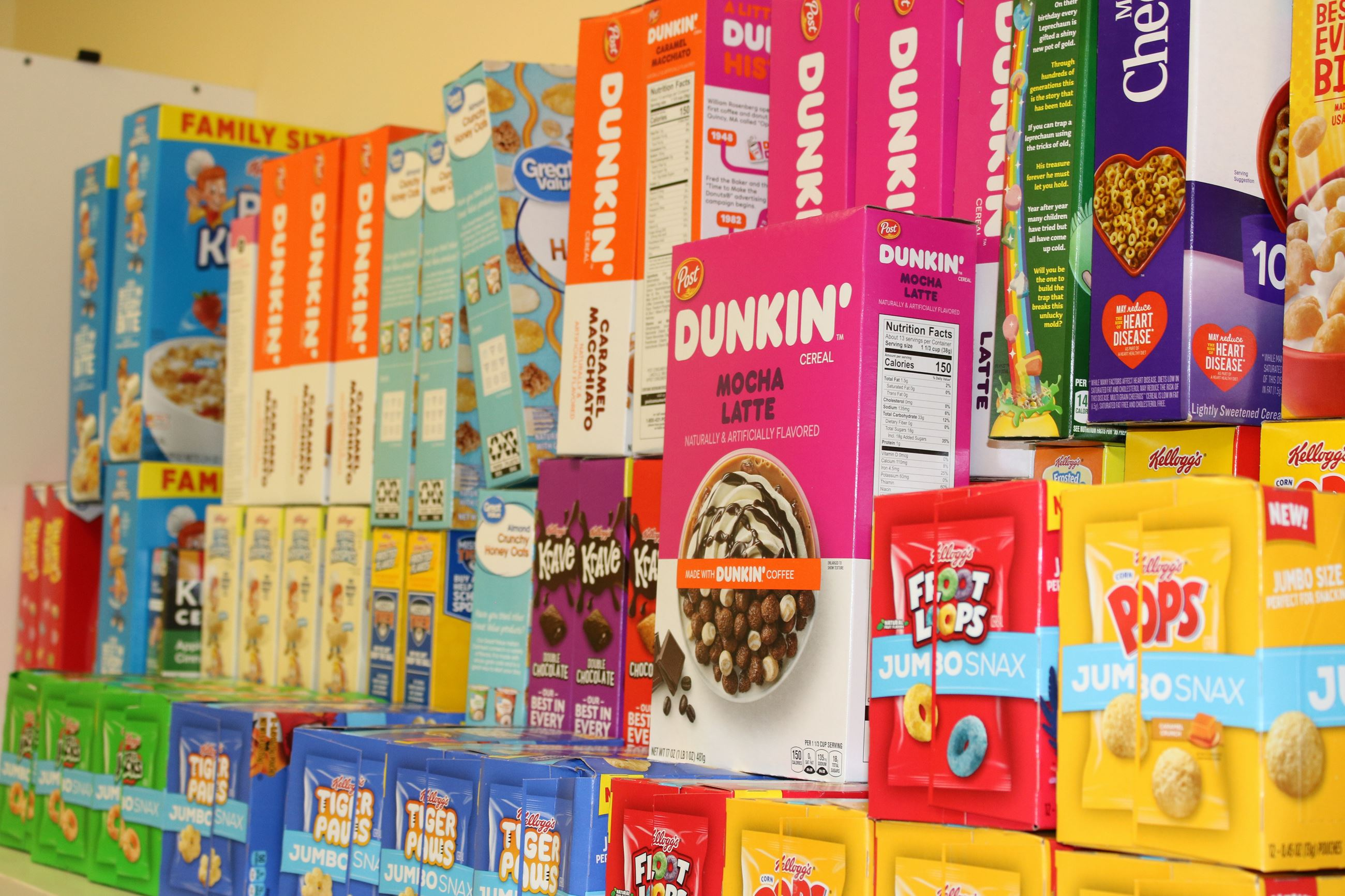 Image for nonperishable food items in Tamarac's food pantry