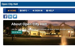 Open City Hall Forum